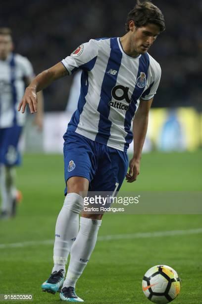 Porto forward Goncalo Paciencia from Portugal during the FC Porto v Sporting CP Taca de Portugal Semi Final Leg One at Estadio do Dragao on February...