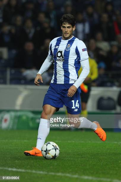 Porto forward Goncalo Paciencia from Portugal during the UEFA Champions League Round of 16 First Leg match between FC Porto and Liverpool at Estadio...