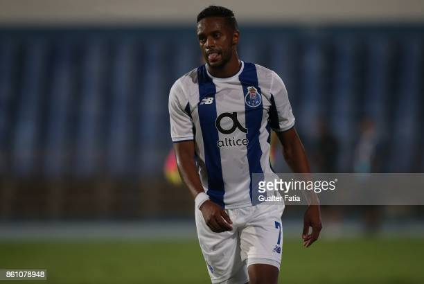 Porto forward Hernani Fortes from Portugal during the Portuguese Cup match between Lusitano Ginasio Clube and FC Porto at Estadio do Restelo on...