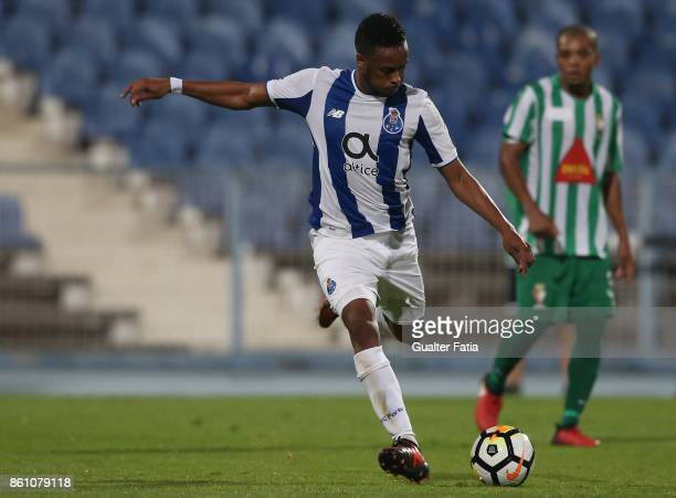 Porto forward Hernani Fortes from Portugal in action during the Portuguese Cup match between Lusitano Ginasio Clube and FC Porto at Estadio do...