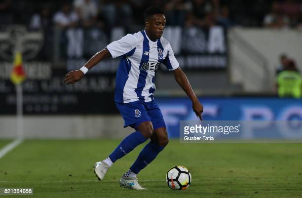 Porto forward Hernani Fortes from Portugal in action during the PreSeason Friendly match between Vitoria de Guimaraes and FC Porto at Estadio D...