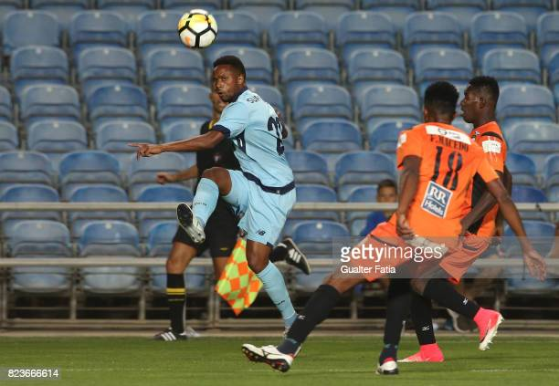 Porto forward Hernani Fortes from Portugal in action during the PreSeason Friendly match between Portimonense SC and FC Porto at Estadio Algarve on...