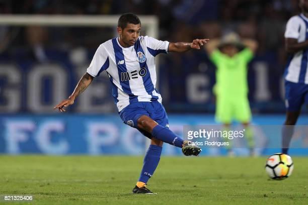 Porto forward Jesus Corona from Mexico during the match between Vitoria Guimaraes v FC Porto match for the Guimaraes City Trophy at Estadio da Dom...
