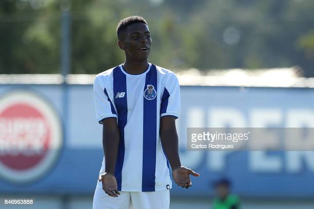 Porto forward Junior Joao Maleck Robles from Mexico during the the UEFA Youth Champions League match between FFC Porto and Besiktas JK at Centro de...