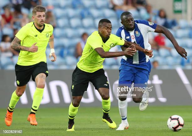 Porto defender Felipe from Brazil in action during the Algarve Cup match between FC Porto and LOSC Lille at Estadio Algarve on July 20 2018 in Faro...