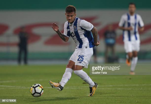 Porto forward Otavio from Brazil in action during the Portuguese Cup match between Lusitano Ginasio Clube and FC Porto at Estadio do Restelo on...