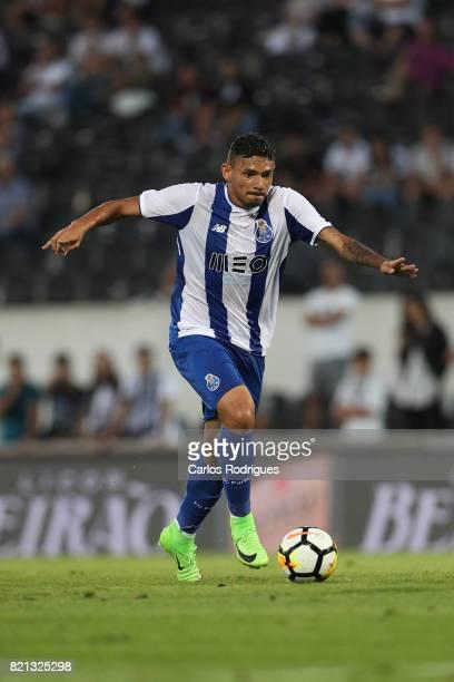 Porto forward Soares from Brazil during the match between Vitoria Guimaraes v FC Porto match for the Guimaraes City Trophy at Estadio da Dom Afonso...