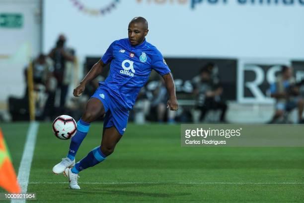 Porto forward Yacine Brahimi from Algeria during the Portimonense SC v FC Porto PreSeason Friendly match at Estadio Municipal de Portimao on July 17...
