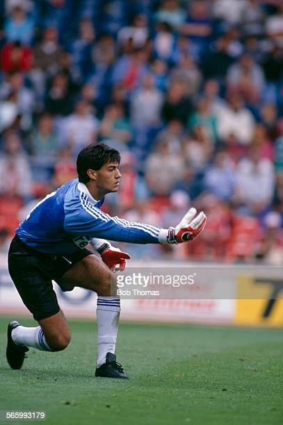 FC Porto goalkeeper Vitor Baia in action during a Makita International Tournament match against FC Dynamo Kyiv at Wembley Stadium London 30th July...