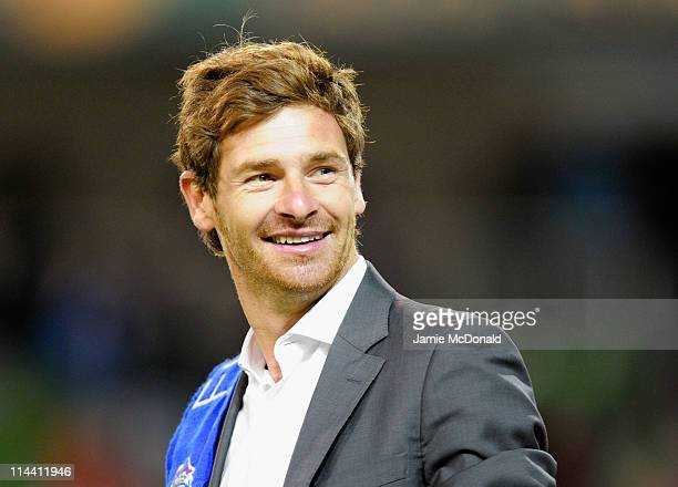 Porto Head Coach Andre Villas Boas looks on after the UEFA Europa League Final between FC Porto and SC Braga at Dublin Arena on May 18 2011 in Dublin...