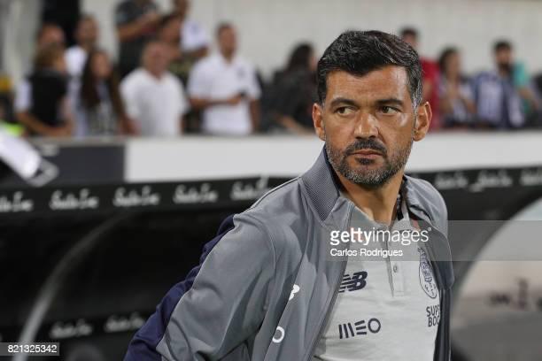 Porto head coach Sergio Conceicao during the match between Vitoria Guimaraes v FC Porto match for the Guimaraes City Trophy at Estadio da Dom Afonso...