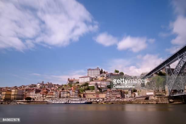 Porto, long exposure view from Vila Nova de Gaia, Portugal