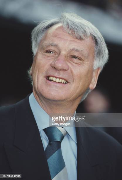 Porto Manager Bobby Robson smiles before a UEFA Champions League Match against Barcelona at The Nou Camp on April 27, 1994 in Barcelona, Spain.