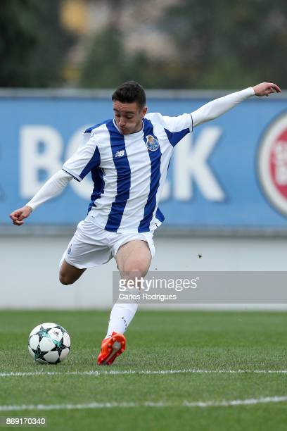 Porto midfielder Afonso Gamelas De Pinho Sousa from Portugal during the match between FC Porto v RB Leipzig for the UEFA Youth Champions League match...