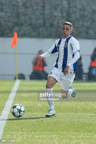 Porto midfielder Afonso Gamelas De Pinho Sousa from Portugal during the match between FC Porto v AS Monaco for the UEFA Youth Champions League match...