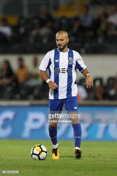 Porto midfielder Andre Andre from Portugal during the match between Vitoria Guimaraes v FC Porto match for the Guimaraes City Trophy at Estadio da...