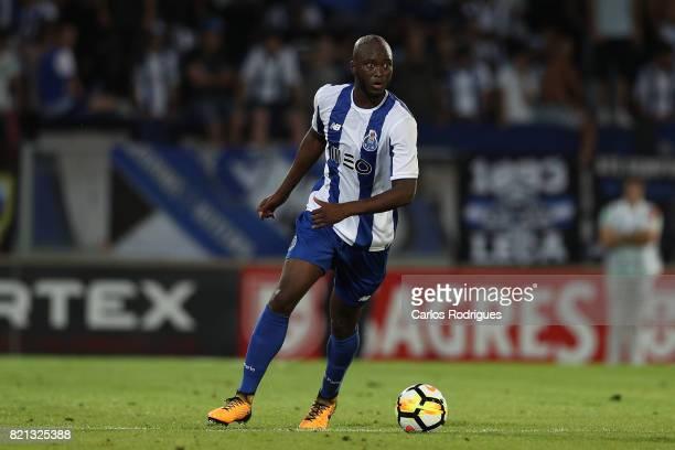 Porto midfielder Danilo Pereira from Portugal during the match between Vitoria Guimaraes v FC Porto match for the Guimaraes City Trophy at Estadio da...