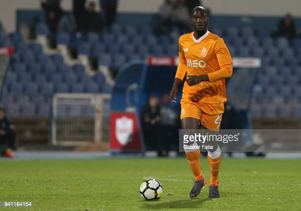 Porto midfielder Danilo Pereira from Portugal in action during the Primeira Liga match between CF Os Belenenses and FC Porto at Estadio do Restelo on...