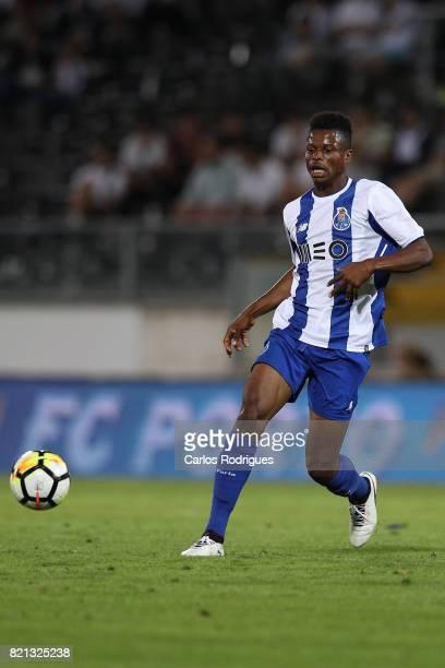 Porto midfielder Mikel Agu from Nigeria during the match between Vitoria Guimaraes v FC Porto match for the Guimaraes City Trophy at Estadio da Dom...