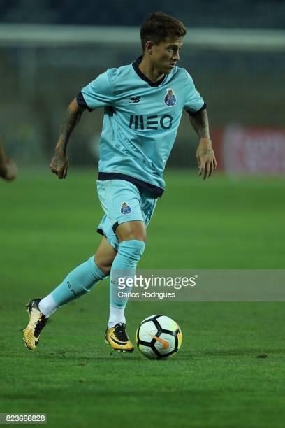 Porto midfielder Otavio from Brazil during the PreSeason Friendly match between Portimonense SC and FC Porto at Estadio do Algarve on July 27 2017 in...