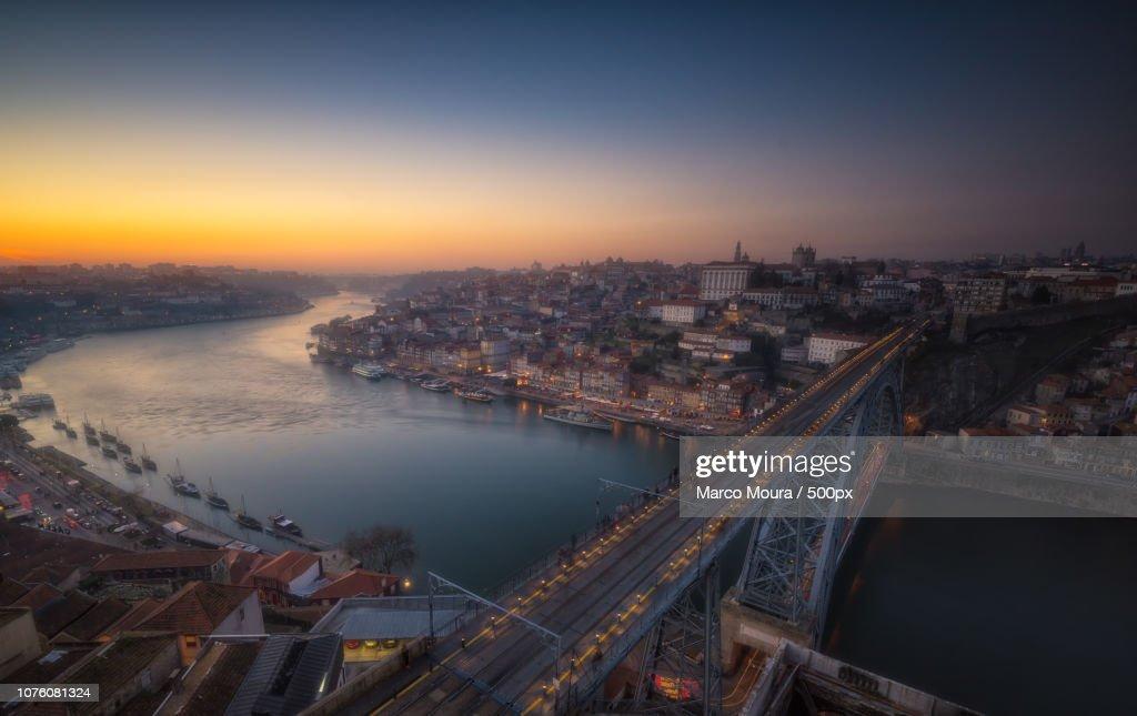 Porto night : Stock Photo