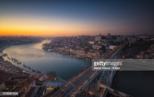 porto night - moura stock photos and pictures
