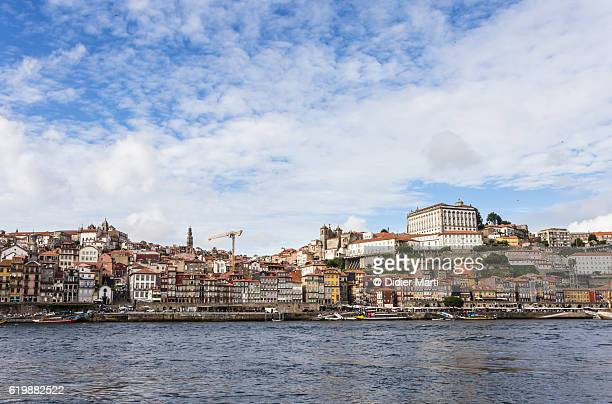 Porto old town by the Douro river in Portugal