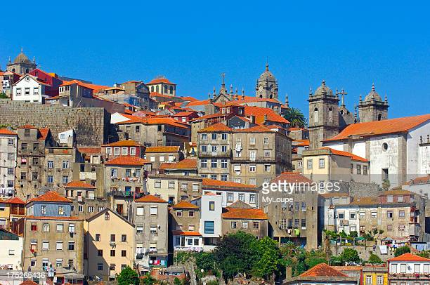 Porto old Town Oporto Ribeira district UNESCO World Heritage Site Portugal Europe