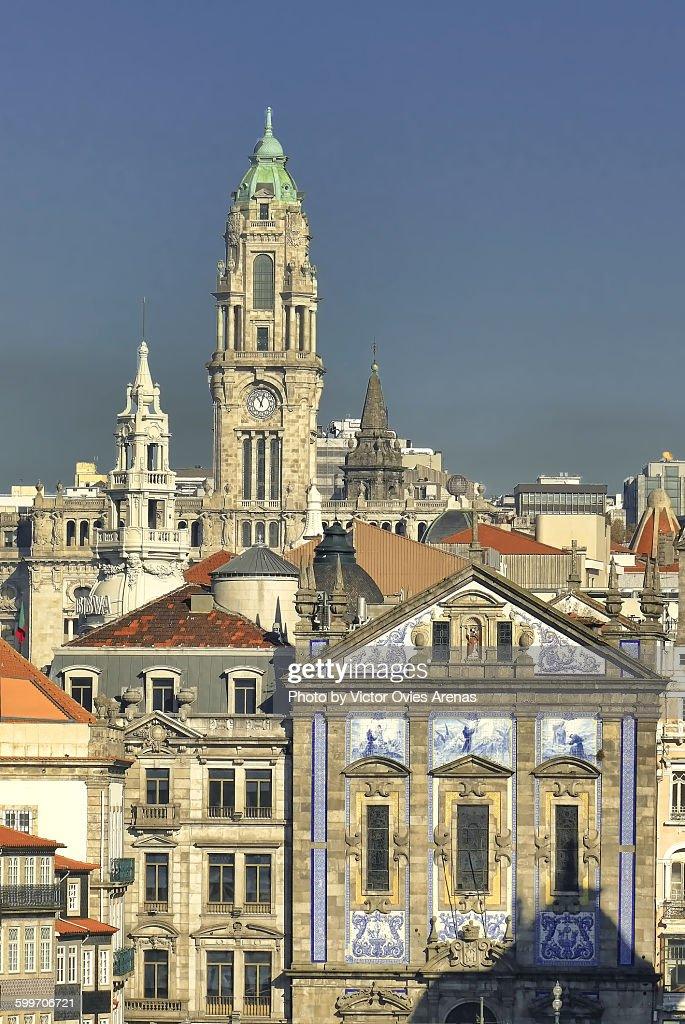 Porto Skyline : Foto de stock