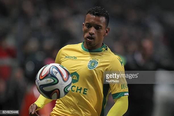 Sporting's midfielder Nani during Premier League 2014/15 match between Boavista FC and Sporting CP at Bessa Sec XXI Stadium in Porto on December 5...