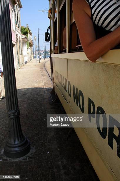Porto Tram, historic tram network, River Douro, Historic downtown, Passeio Alegre Garden, Route,