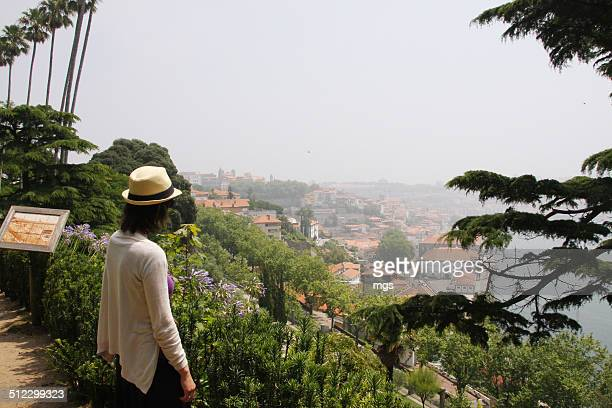 porto view - douro valley stock photos and pictures