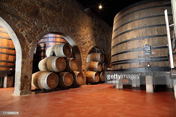 porto wine cellar - portugal stock pictures, royalty-free photos & images