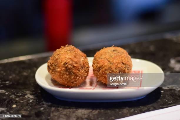 Portobello mushroom croquettes