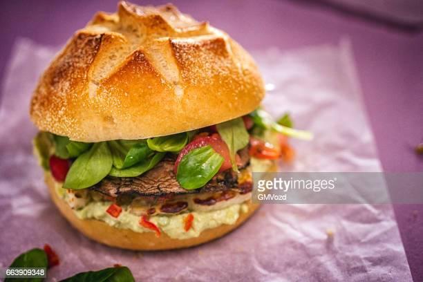 Champignon Portobello Veggie Burger