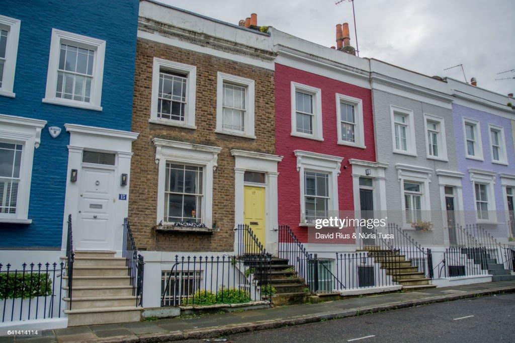 Portobello road, London : Stock Photo