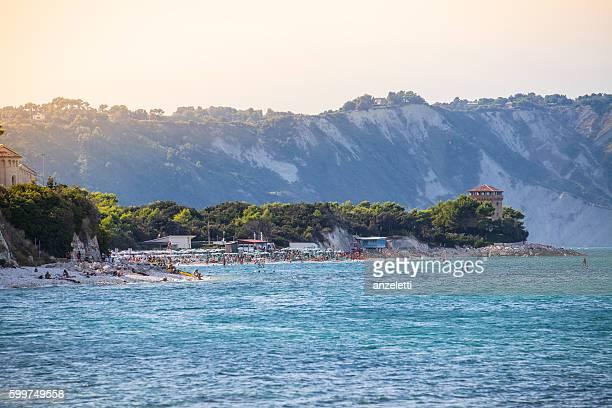 Portonovo Strand in Ancona