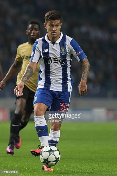 Porto's Brazilian midfielder Otavio during UEFA Champions League Group G match between FC Porto and Club Brugge at Dragao Stadium in Porto on...
