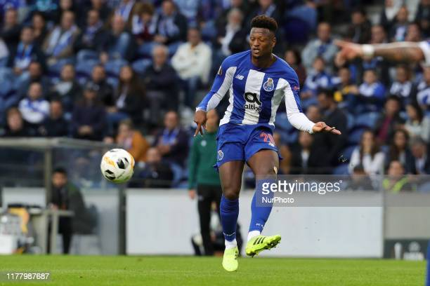 Portos Cape Verdean forward Ze Luis in action during the UEFA Europa League group G match between FC Porto and Rangers FC at Dragao Stadium on...