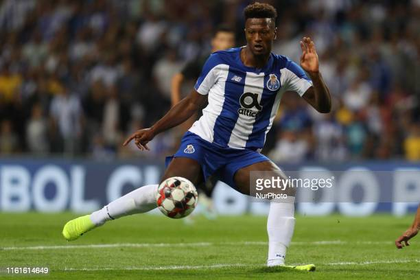 Portos Cape Verdean forward Ze Luis in action during the UEFA Champions League match between FC Porto and FC Krasnodar at Dragao Stadium in Porto on...