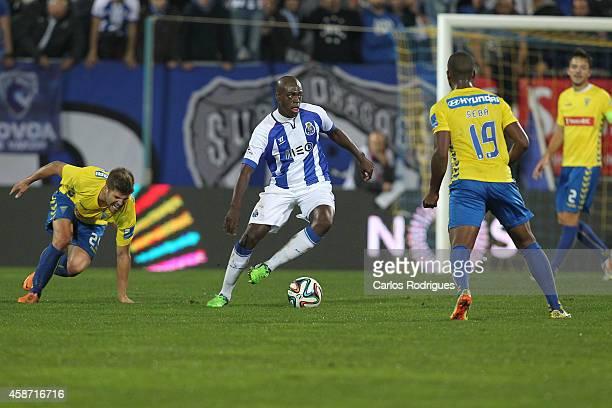 Porto's defender Bruno Martins Indi during the Portuguese First League match between GD Estoril Praia and FC Porto at Estadio Antonio Coimbra da Mota...