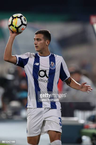 Porto's defender Diogo Dalot from Portugal during the match between Lusitano Ginasio Clube and FC Porto for the Portuguese Cup at Estadio do Restelo...