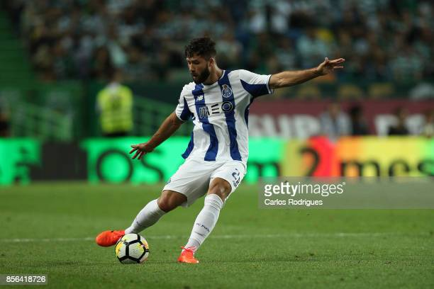 Porto's defender Felipe from Brazil during the Portuguese Primeira Liga round two match between Sporting CP and FC Porto at Estadio Jose Alvalade on...