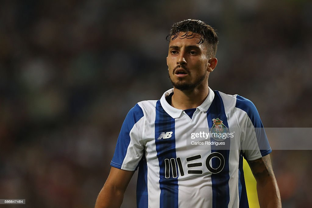 FC Porto's defender from Brazil Alex Telles during the match between FC Porto v Villarreal CF friendly match at Estadio do Dragao on August 6, 2016 in Porto, Portugal.