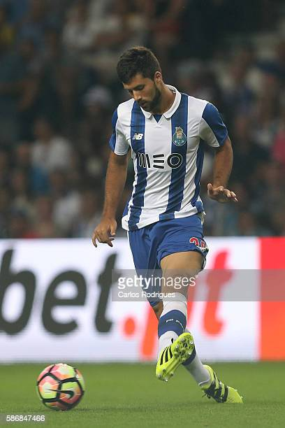Porto's defender from Brazil Felipe during the match between FC Porto v Villarreal CF friendly match at Estadio do Dragao on August 6 2016 in Porto...