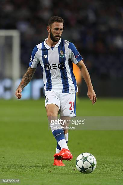 Porto's defender from Mexico Miguel Layun during the UEFA Champions League match between FC Porto v FC Copenhagen at Estadio do Dragao on September...
