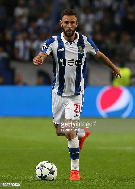 PortoÕs defender from Mexico Miguel Layun in action during the UEFA Champions League match between FC Porto and FC Copenhagen at Estadio do Dragao on...