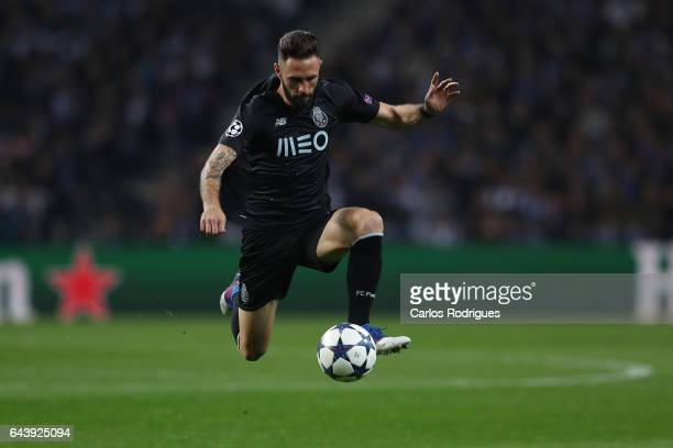Porto's defender Miguel Layun from Mexico during the match between FC Porto v Juventus UEFA Champions League Round of 16 First Leg match at Estadio...