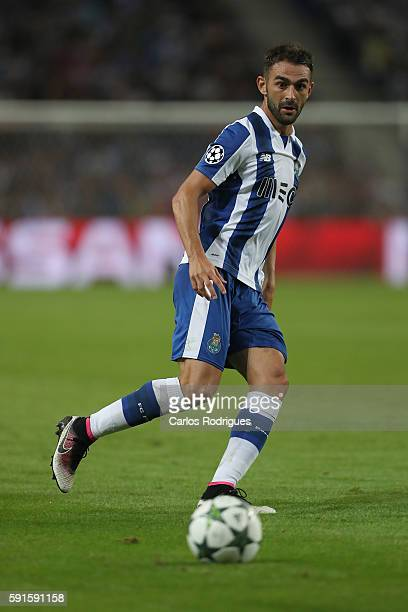 PortoÕs forward from Spain Adrian Lopez during the match between FC Porto v AS Rome UEFA Champions League playoff match at Estadio do Dragao on...