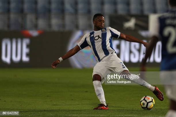 Porto's forward Hernani Fortes from Portugal during the match between Lusitano Ginasio Clube and FC Porto for the Portuguese Cup at Estadio do...